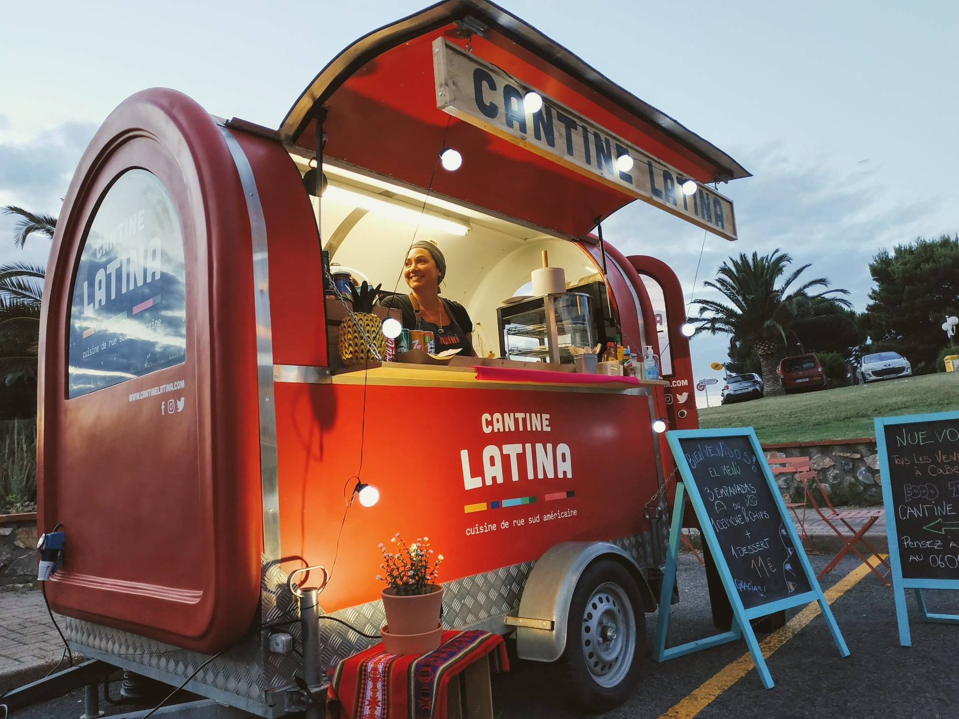 Cantine Latina food truck